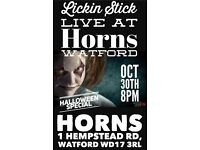 Halloween party at Horns Watford October 31st