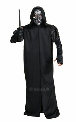 Adult Harry Potter Death Eater Mens Halloween Horror Fancy Dress Costume Outfit