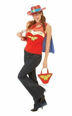 Wonder women tshirt Womens Costume DC comics Marvel Superhero Fancy Dress outfit
