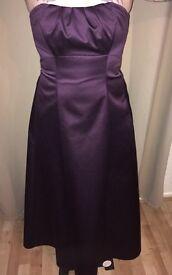 Bridesmaid dresses (Cadbury purple)