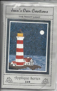 The Night light Lighthouse Quilt pattern - sewing