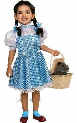 SALE Kids Wizard Of Oz Sequin Dorothy Dress Girls Book Week Fancy Dress - Dorothy Kostüm Kid