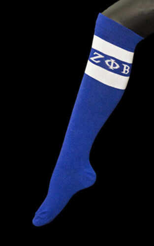 Zeta Phi Beta Sorority Knee High Socks-New!