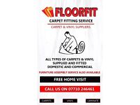 Carpet & Vinyl fitting service