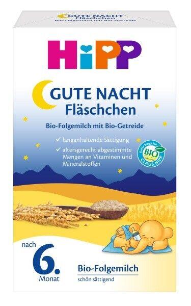 Hipp Gute-Nacht-Fläschchen Bio VE 500g PZN 06615607  (16,70 EUR/kg)