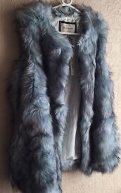 River Island Fur Gilet BNWT