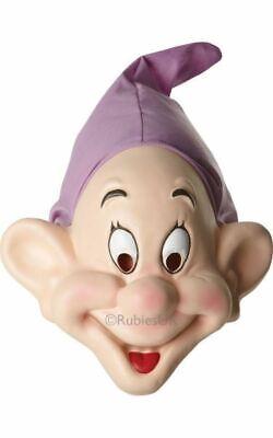 Adult Dopey Costume (Adult Disney Funny Snow White 7 Dwarfs Dopey Mask Fancy Dress Costume)