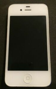 IPHONE 4S  BLANC APPLE  CELLULAIRE TELEPHONE IOS pour pieces.