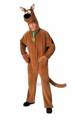 Licensed 70s Deluxe Scooby Doo Mens Halloween Fancy Dress Costume Party - Deluxe Scooby Doo Kostüm