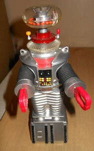 Replica Vintage Metal Wind Up Toys : Spaceship, Robot, more +
