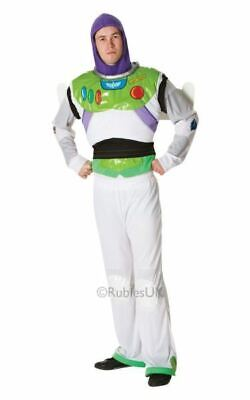 SALE! Adult Toy Story Licensed Buzz Lightyear Mens Fancy Dress Costume Outfit](Buzz Lightyear Adult Costume)
