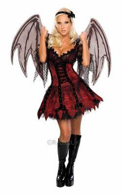 SALE! Adult Sexy Gothic Vampire Fairy Ladies Halloween Party Fancy Dress Costume