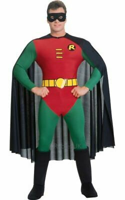 Adult Licensed Batman Movie Classic Robin / Boy Wonder Mens Fancy dress Costume