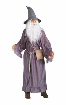 SALE Adult Licensed Lord Of The Rings Gandalf Mens Halloween Fancy Dress Costume
