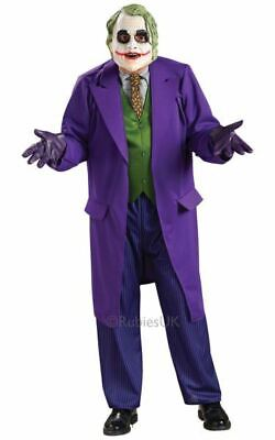 Adult Licensed Batman The Joker Mens Halloween Fancy Dress Costume Party Outfit - The Joker Halloween Outfit
