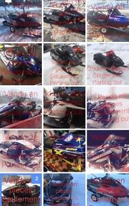 Used snowmobilles parts  Prince George British Columbia image 2