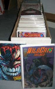 Image Comics from the early 90's (58 comics)