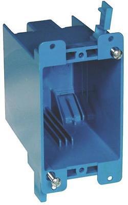 New Case 50 Carlon B120r Blue Pvc Single Gang Old Work Electrical Switch Box