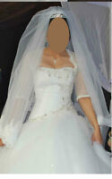 TRÈS BELLE ROBE DE MARIAGE TAILLE8-BEAUTIFUL WEDDING DRESS SIZE8