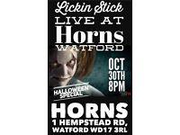 James Brown Halloween Funk at Horns Watford