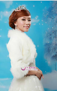 wedding accessories / wedding supplies / faux fur capes_B