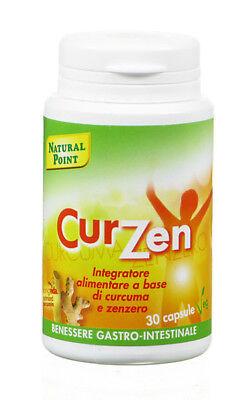 Curzen integratore alimentare a base di curcuma e zenzero 30 capsule