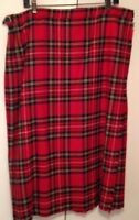Kilt pure wool Royal Stewart from Scotland NEW