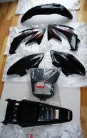 ~~~NEW Honda CRF230L, CRF230M Plastic Kit NOIR Neuf ~~~