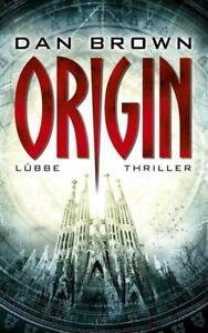 Origin / Robert Langdon Bd.5 von Dan Brown (2017, Gebundene Ausgabe) Neu & OVP