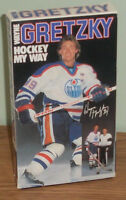 "Collectible 1986 Wayne Gretzky VHS Tape ""Hockey My Way"","