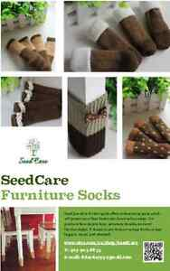 Machine washable furniture socks