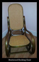 Bentwood Rocking Chair - Excellent Condition