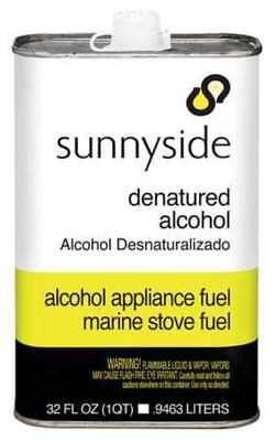 Sunnyside 83432 Denatured Alcohol Solvent1 Qt.