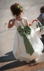 Exquisite Double Layered Flower Girl Dress