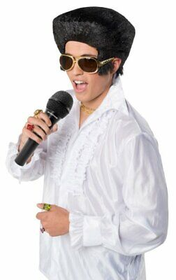 Hair Wig - for Costume Fashion Design Make Up Halloween Party - Elvis style