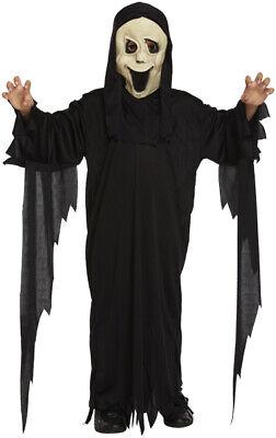 Fantasmas Para Halloween (Para Niños Scream Película Fantasma Cara Disfraz Halloween 4-6yrs V00)