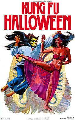 Kung Fu Halloween - 1981 - Movie Poster - Kung Fu Halloween
