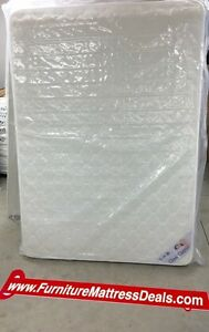 "NEW Double 54""x74"", 7.5""Thick Dual Sided Coil Mattress Only200"