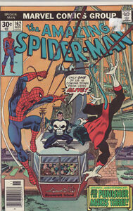 AMAZING SPIDERMAN COMIC BOOK 162 NIGHTCRAWLER & PUNISHER