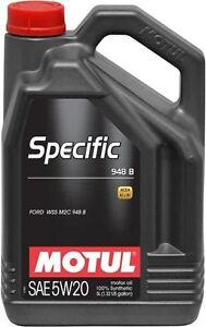 Motul Specific Full Synthetic Engine Oil 5W20 5L