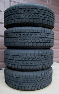 SET OF 4 WINTER TIRES 215 50 R 17 WITH 95 % TREAD Kitchener / Waterloo Kitchener Area image 1