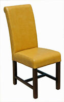 2 4 6 8 High Back Leather Chair in Cognac or Tan Color on SALE