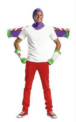 Erwachsene Disney Toy Story Buzz Lightyear Satz Kostüm Set Zubehör DG23432