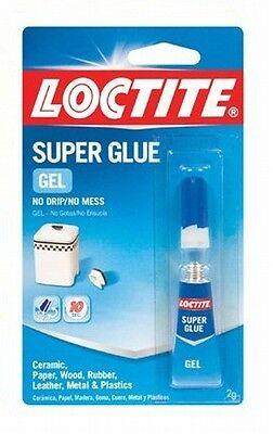 Henkel Gel Glue - Henkel-Loctite 235495 2-Gram Super Glue Gel Carded Tube, Clear