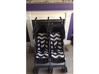Mamas & Papas Twin Tour Double Buggy stroller
