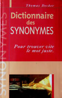 Dictionnaire des synonymes (3$)