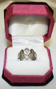 Women's Silver Ring (Size 8.5)