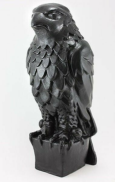 Maltese Falcon Statuette Full Size Prop Statue Black Resin - Not Plaster -