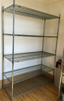 """2 x Metro Commercial Shelving Solution 60"""" x 86"""""""