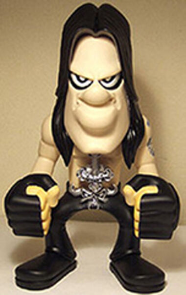 MEDICOM 3 FACES OF DANZIG signed DANZIG TOY JAPAN HTF OOP